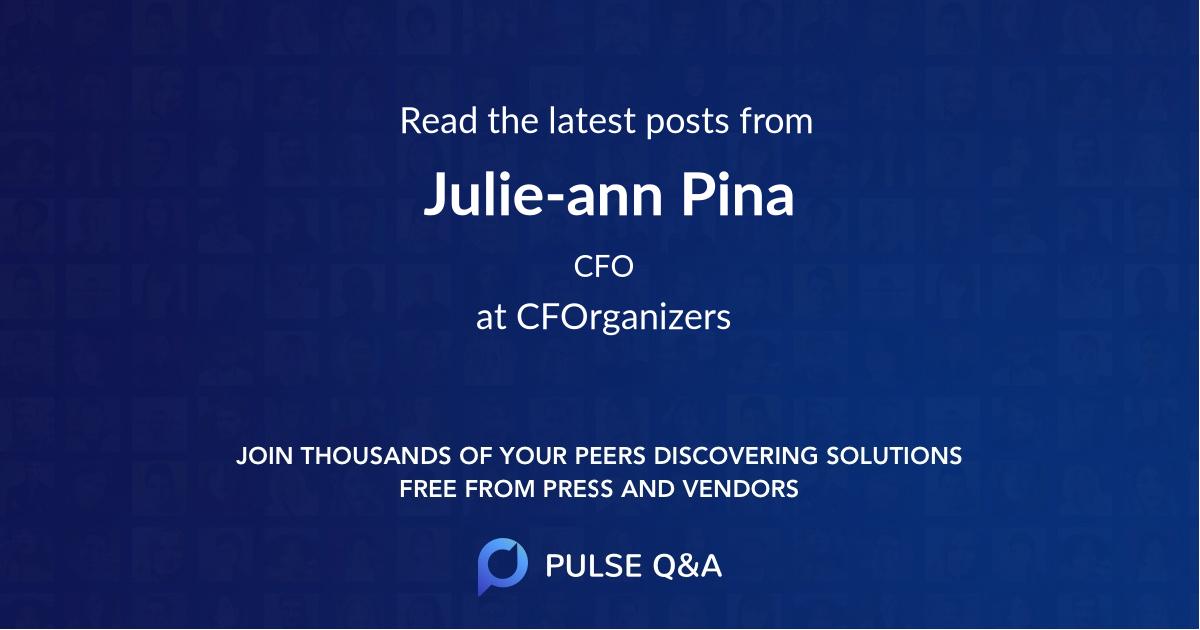 Julie-ann Pina