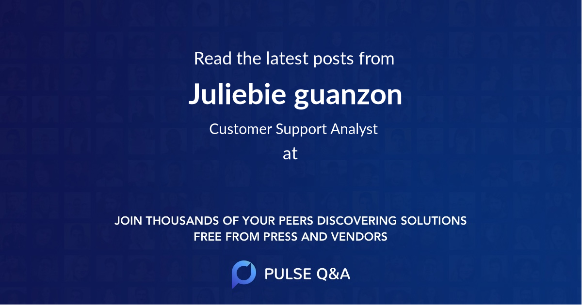 Juliebie guanzon