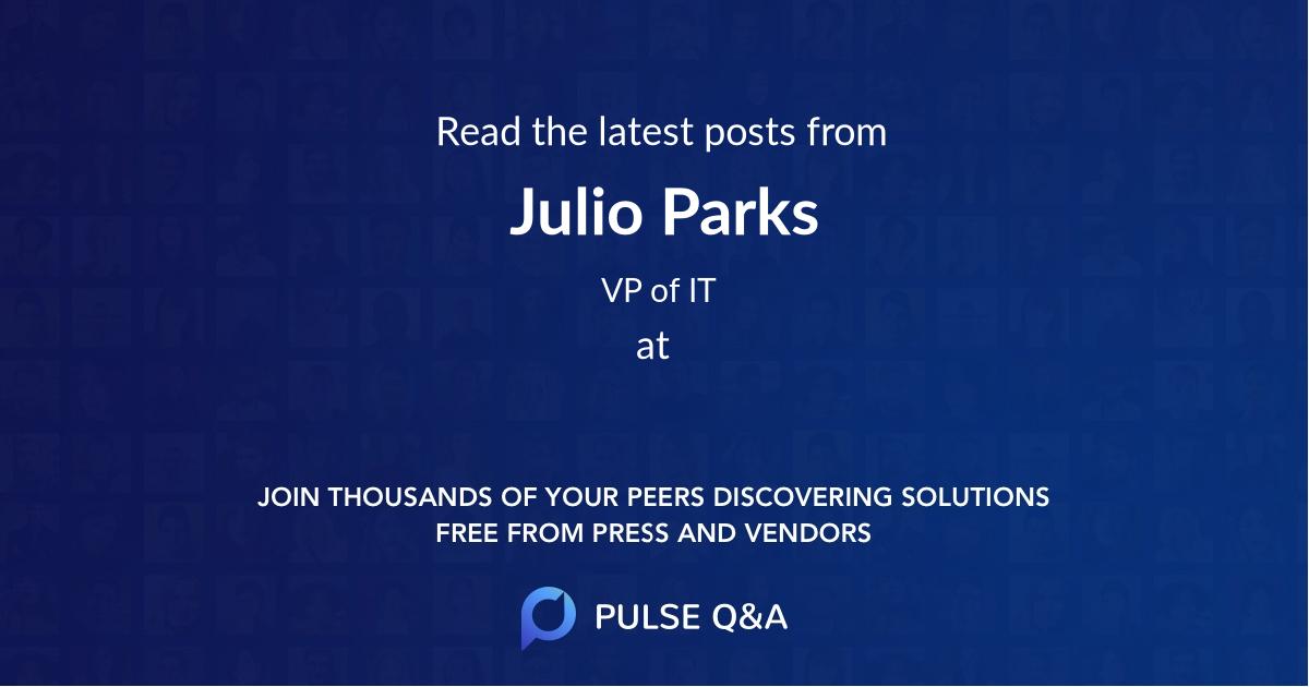 Julio Parks