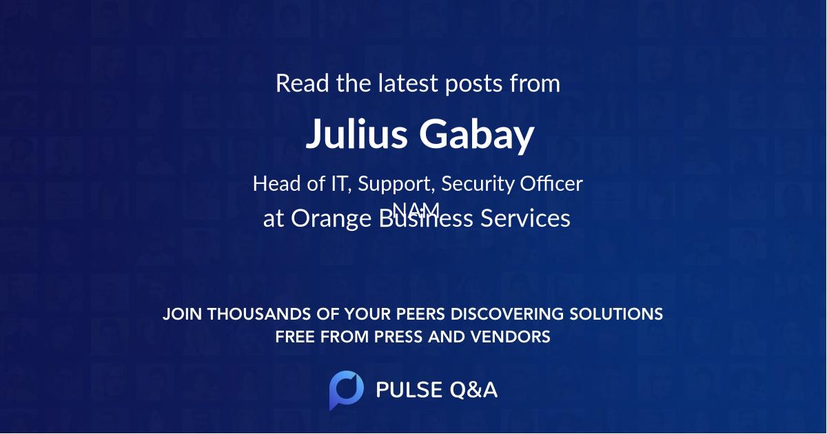 Julius Gabay