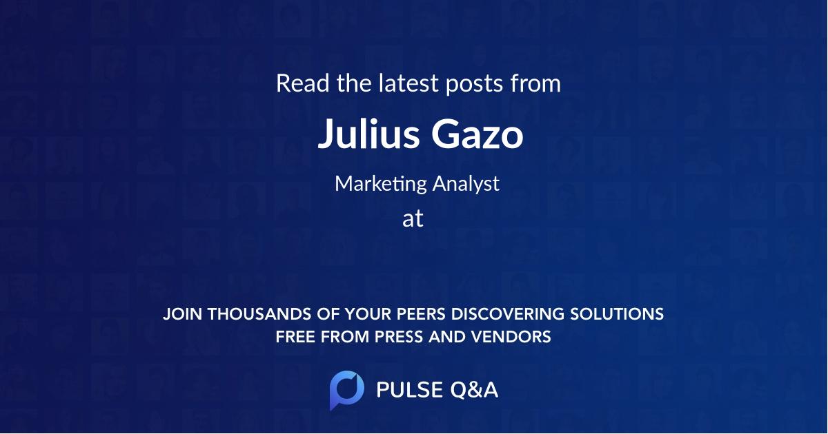 Julius Gazo