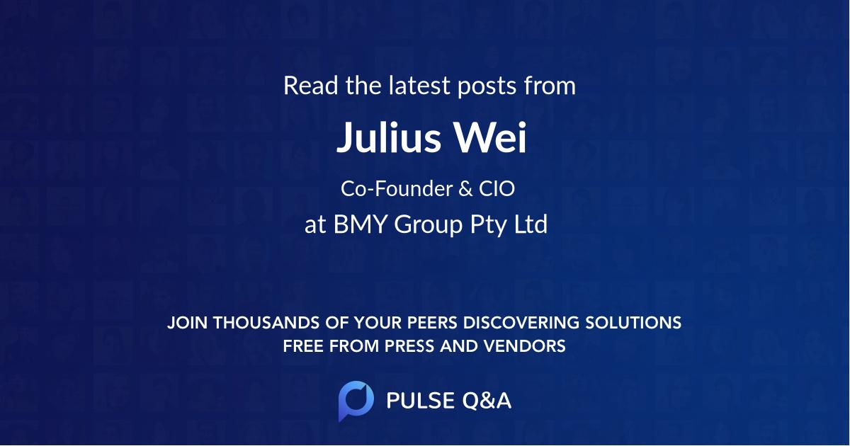 Julius Wei