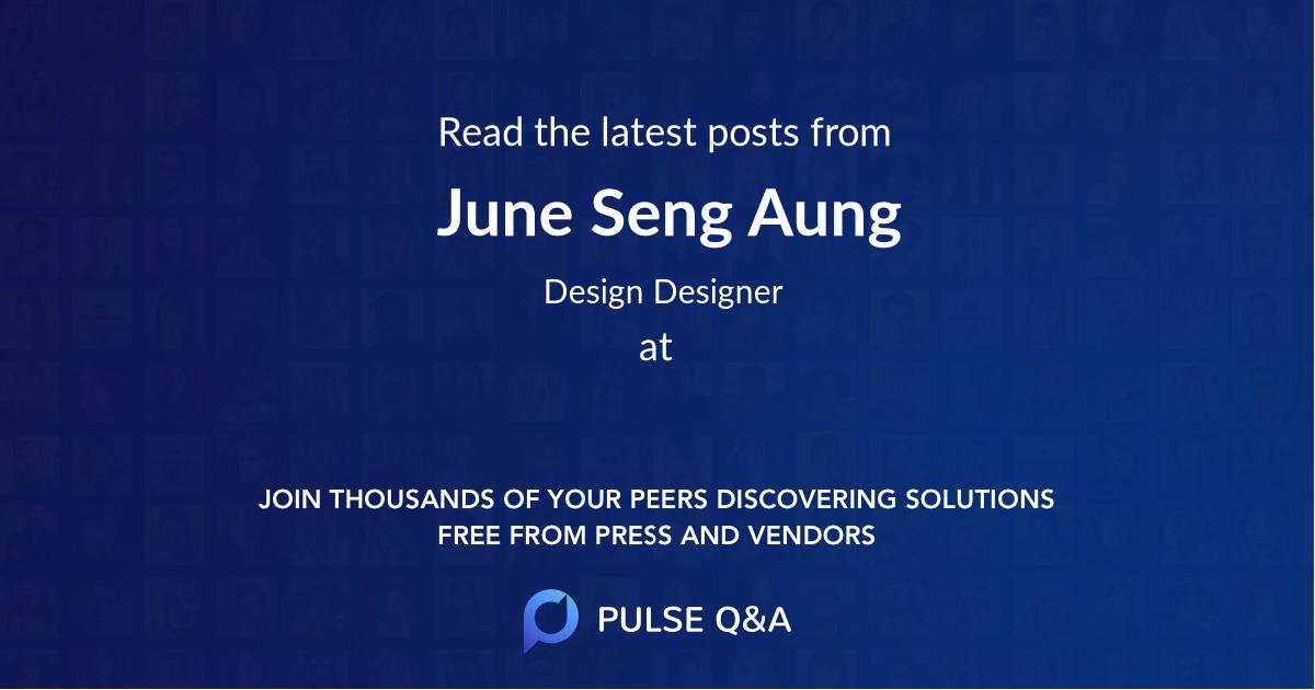 June Seng Aung