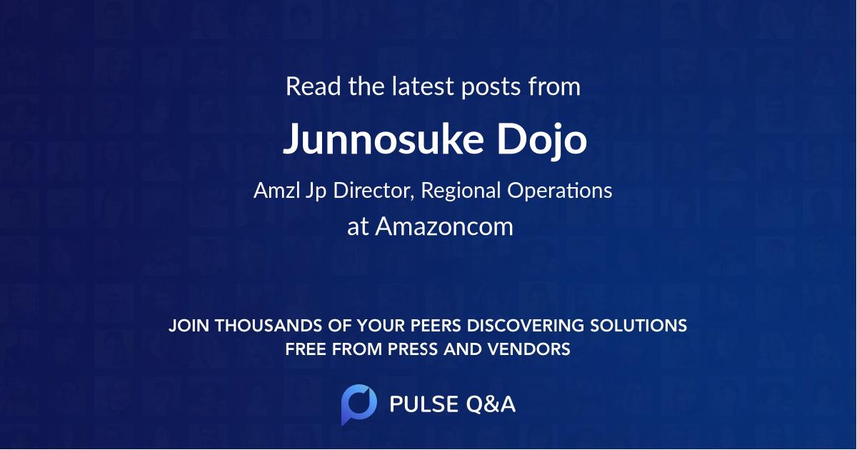 Junnosuke Dojo
