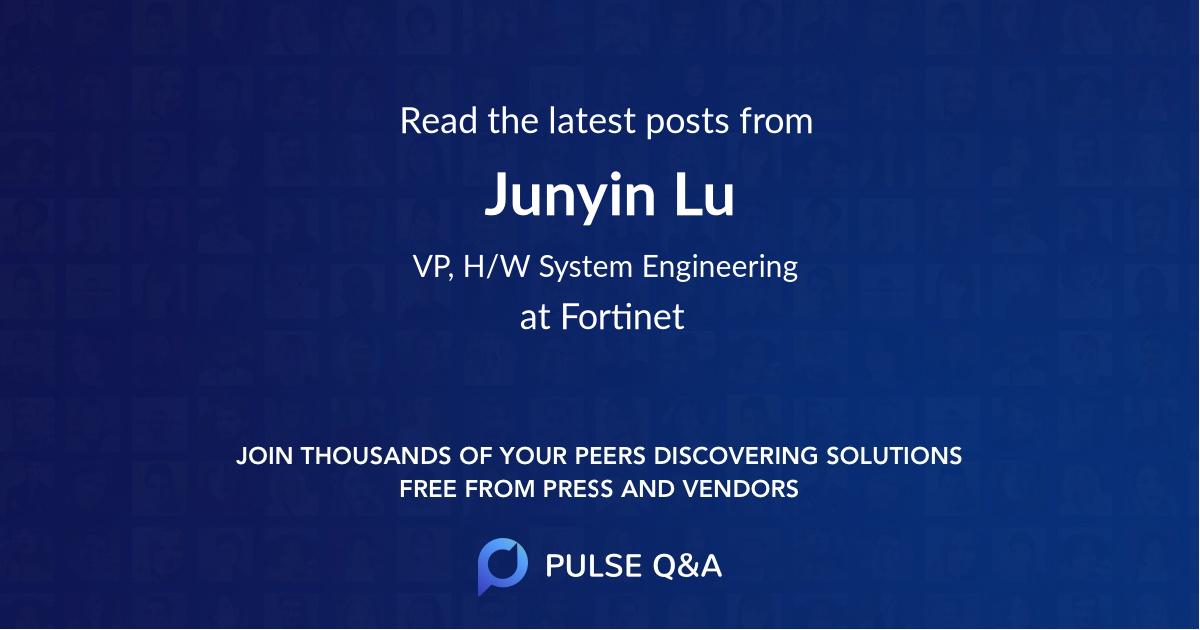 Junyin Lu