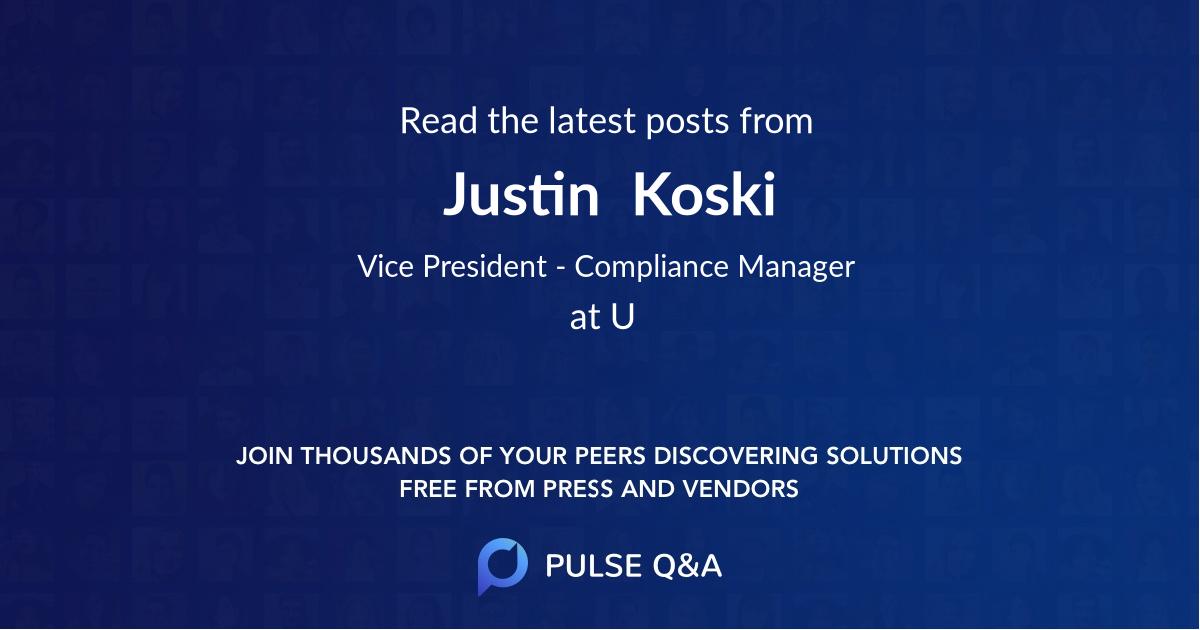 Justin  Koski