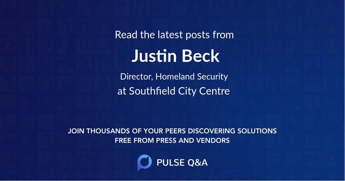 Justin Beck