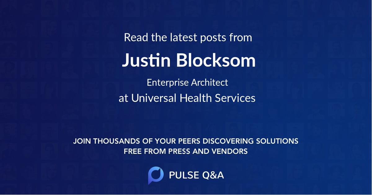 Justin Blocksom