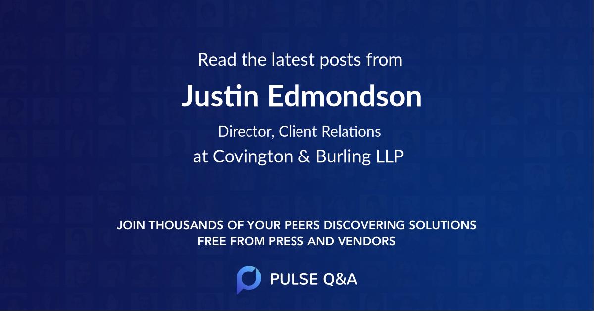Justin Edmondson