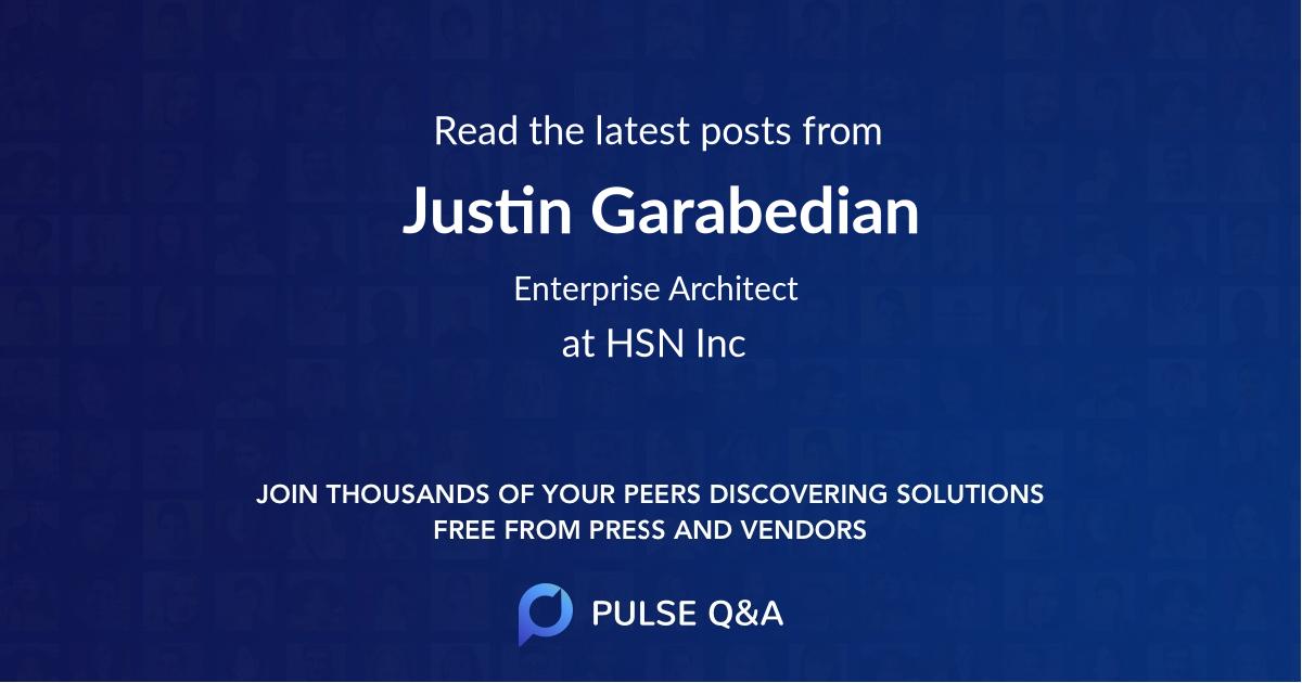 Justin Garabedian