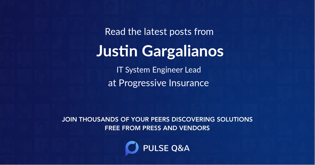 Justin Gargalianos
