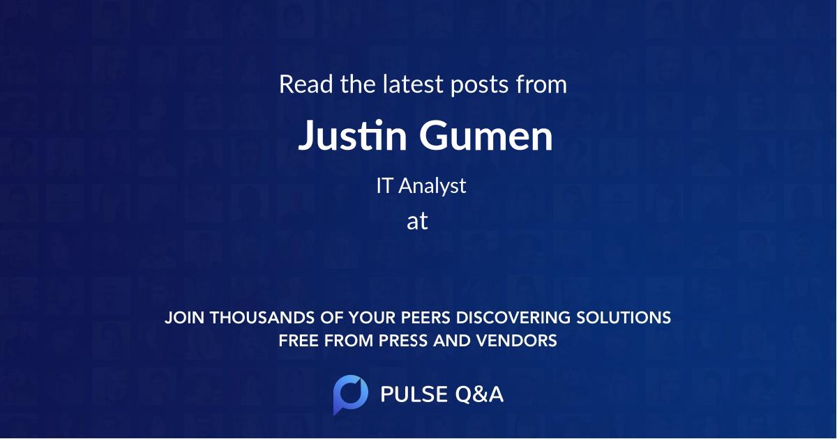 Justin Gumen