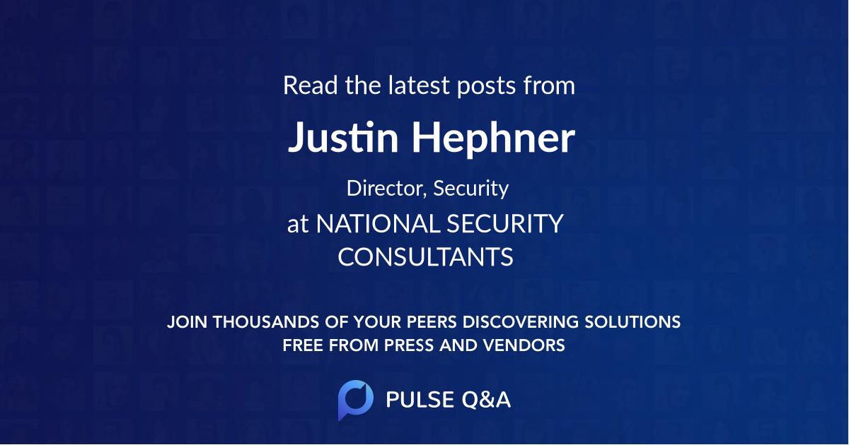 Justin Hephner