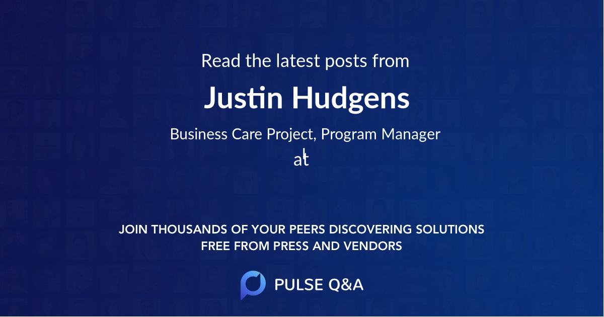 Justin Hudgens
