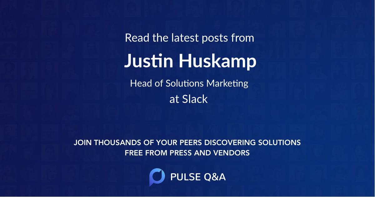 Justin Huskamp