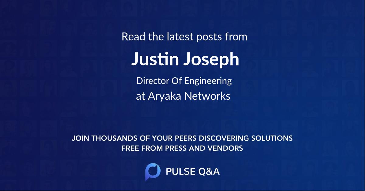 Justin Joseph