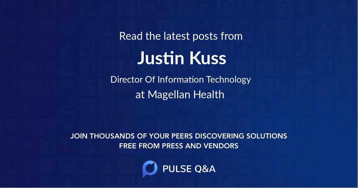 Justin Kuss