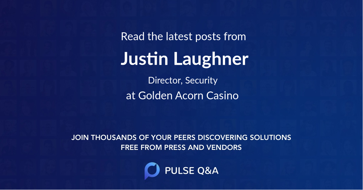 Justin Laughner