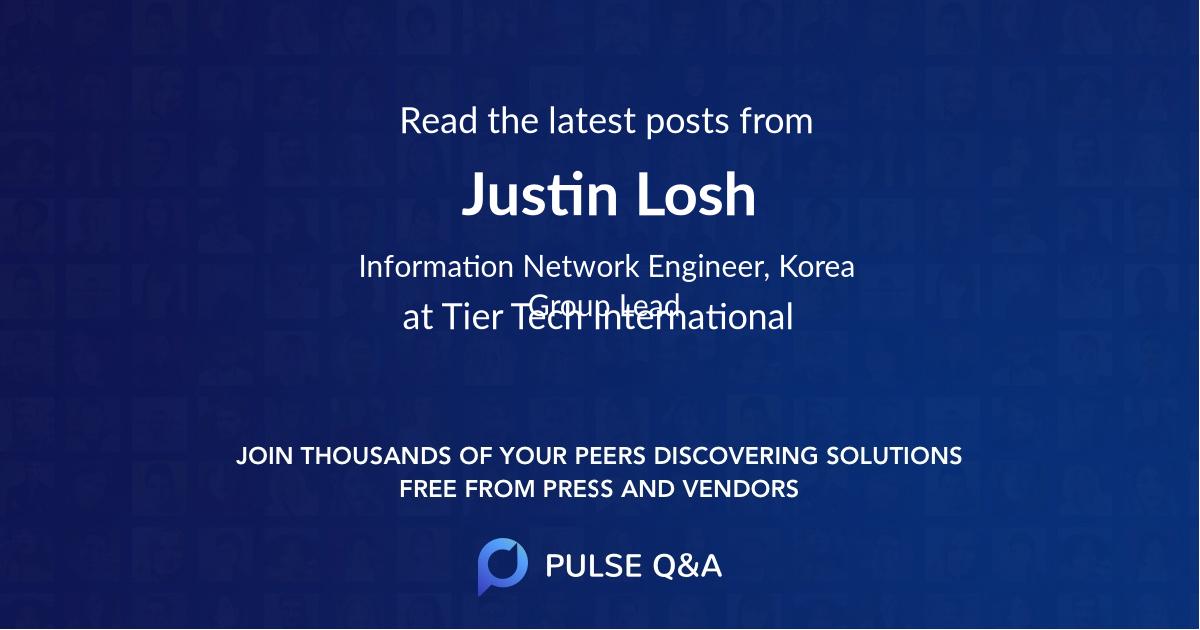 Justin Losh