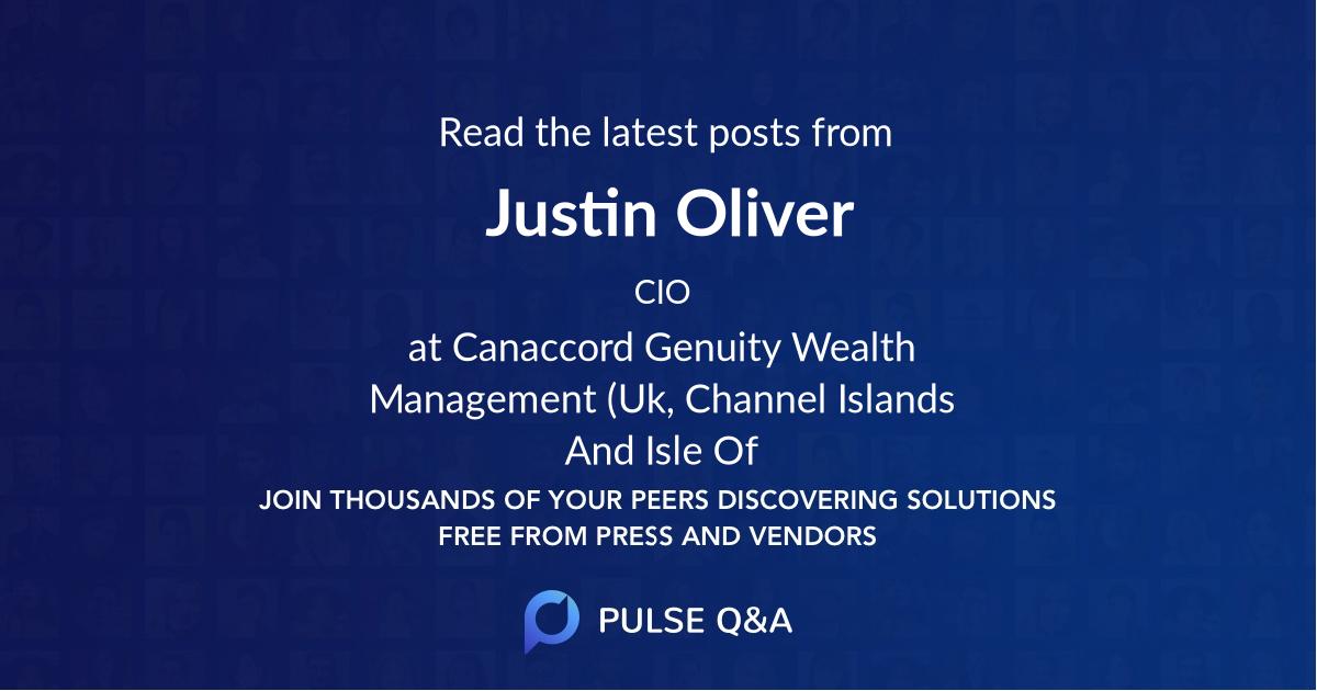 Justin Oliver