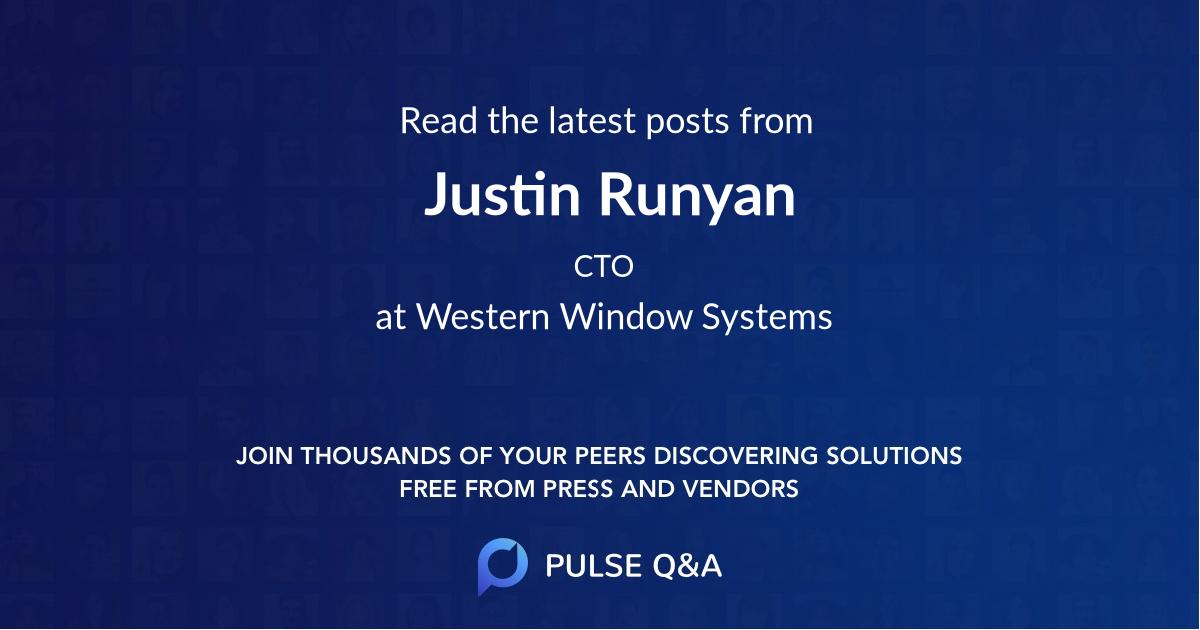 Justin Runyan