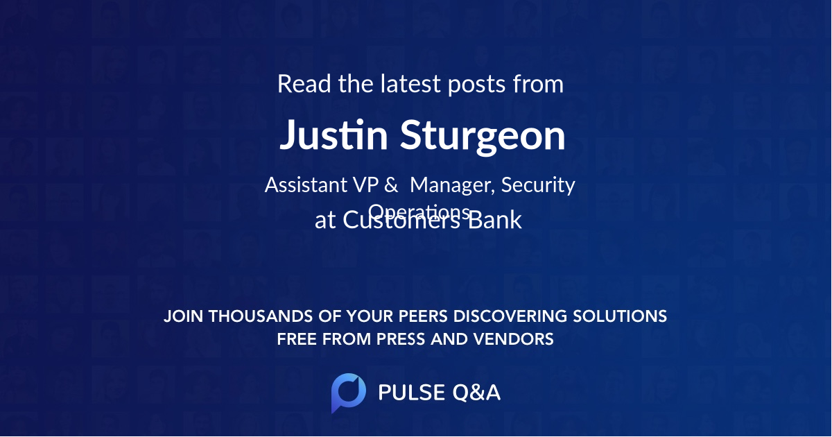 Justin Sturgeon