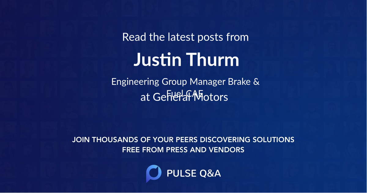 Justin Thurm