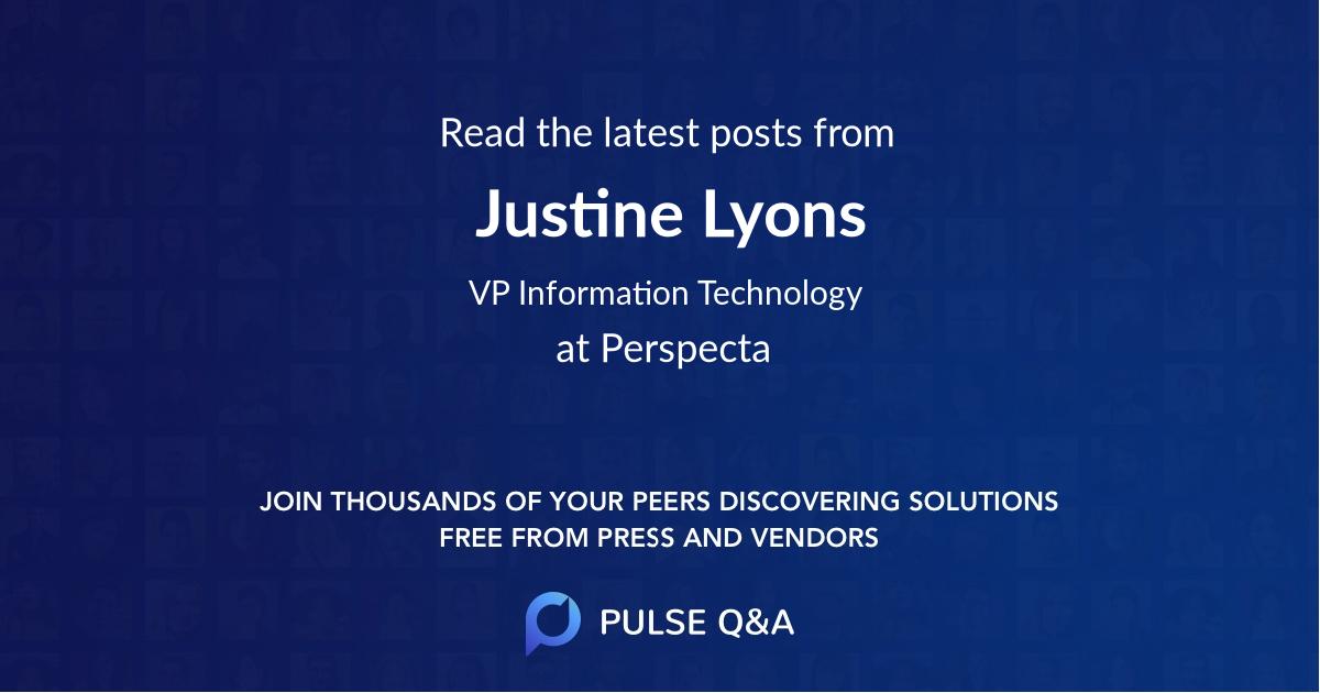 Justine Lyons