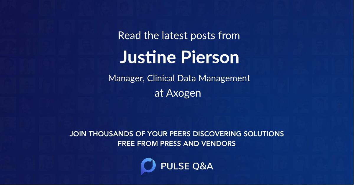 Justine Pierson