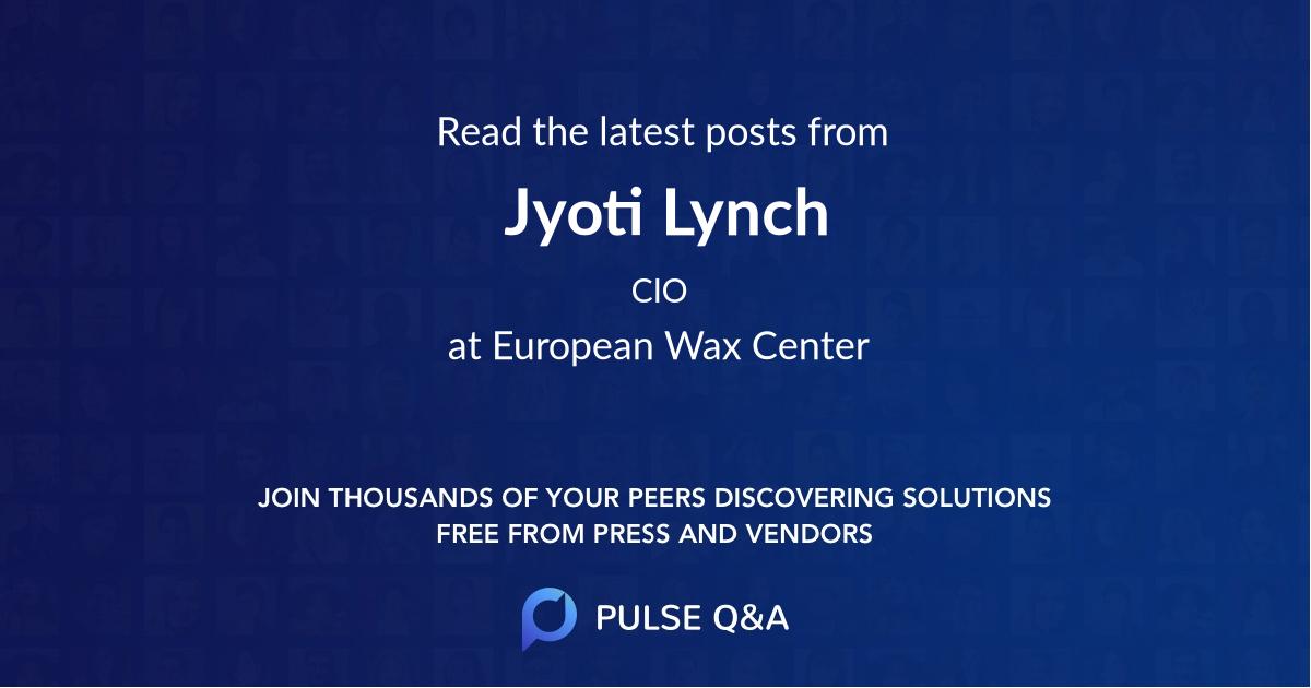 Jyoti Lynch