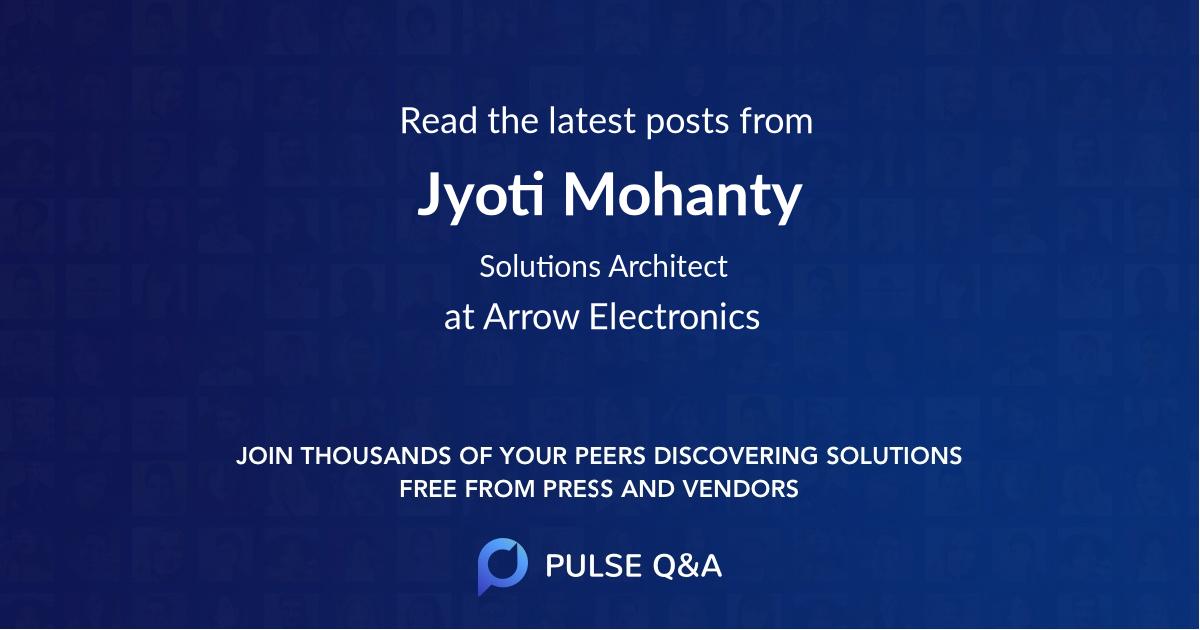 Jyoti Mohanty