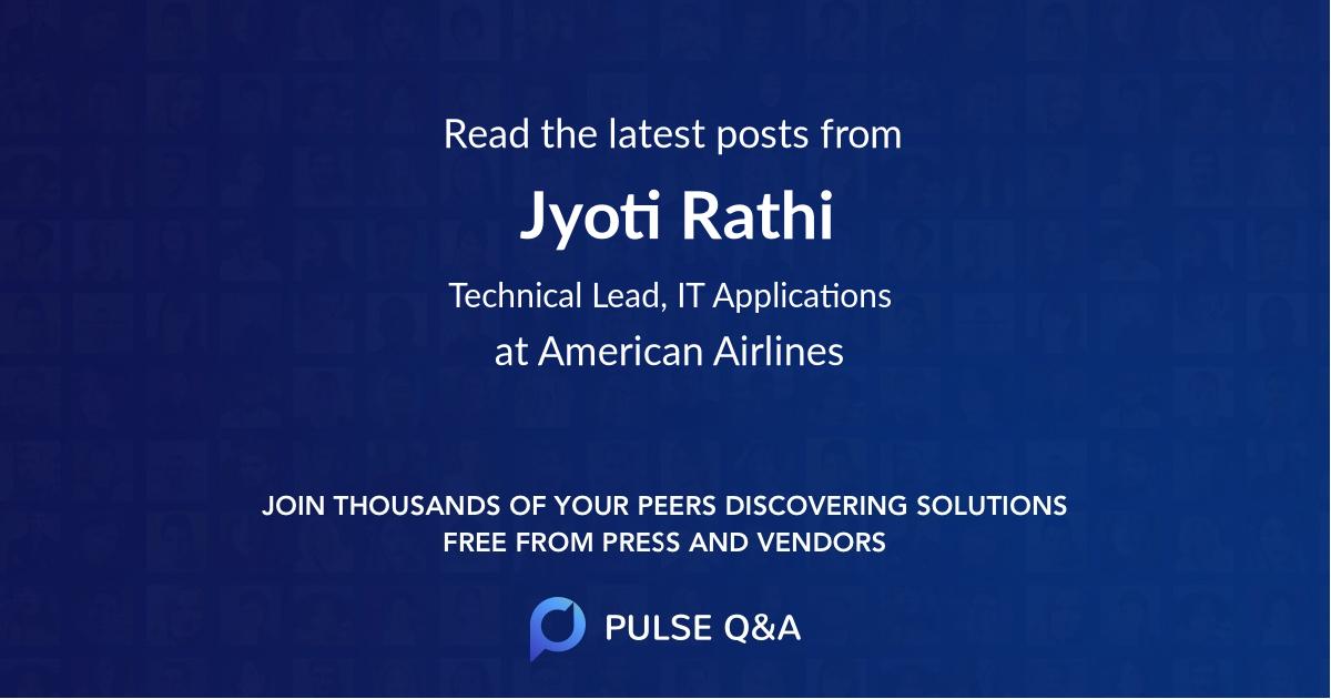 Jyoti Rathi