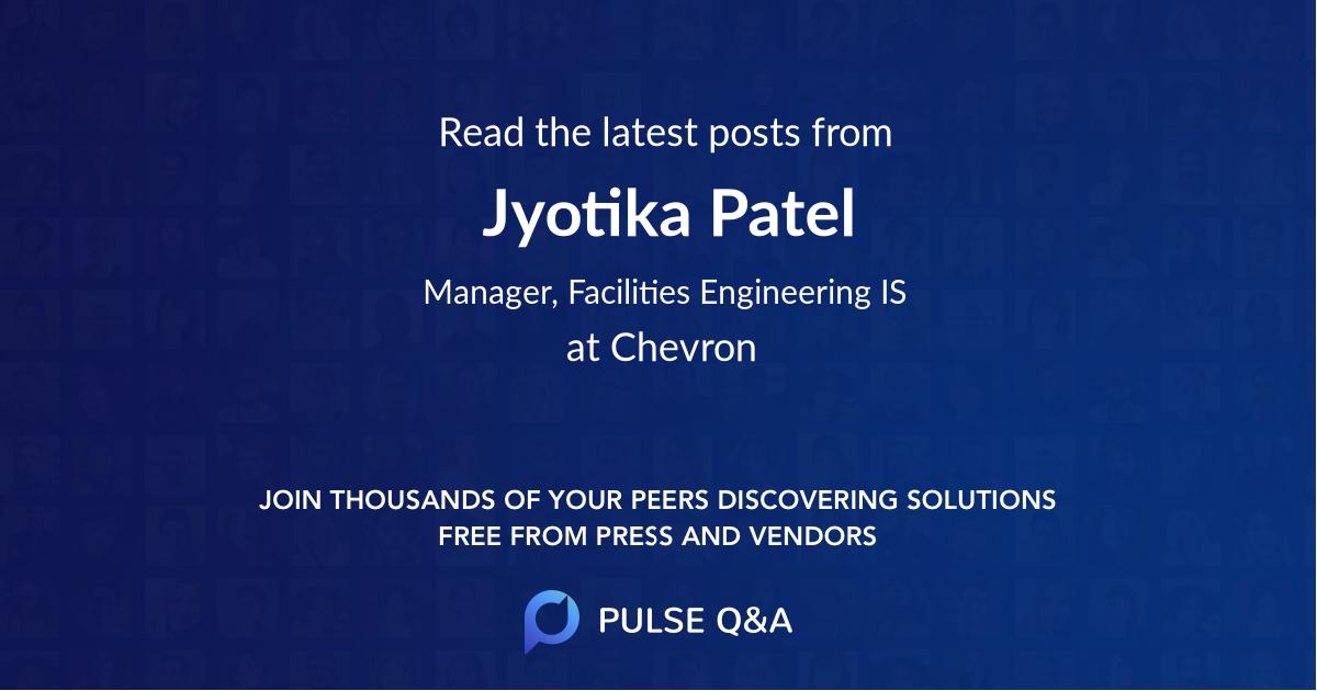 Jyotika Patel