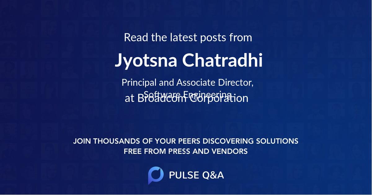 Jyotsna Chatradhi