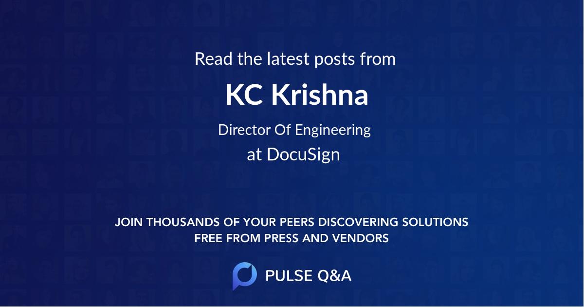 KC Krishna