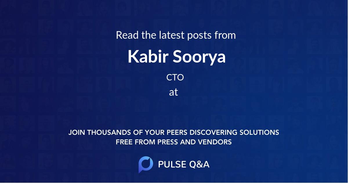 Kabir Soorya