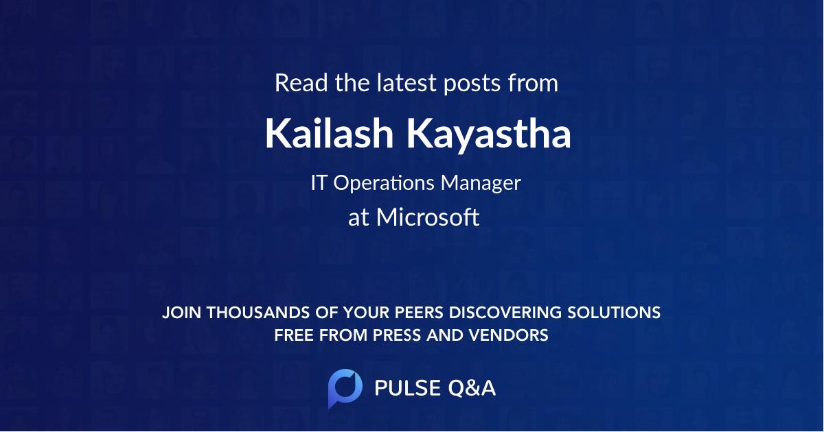 Kailash Kayastha