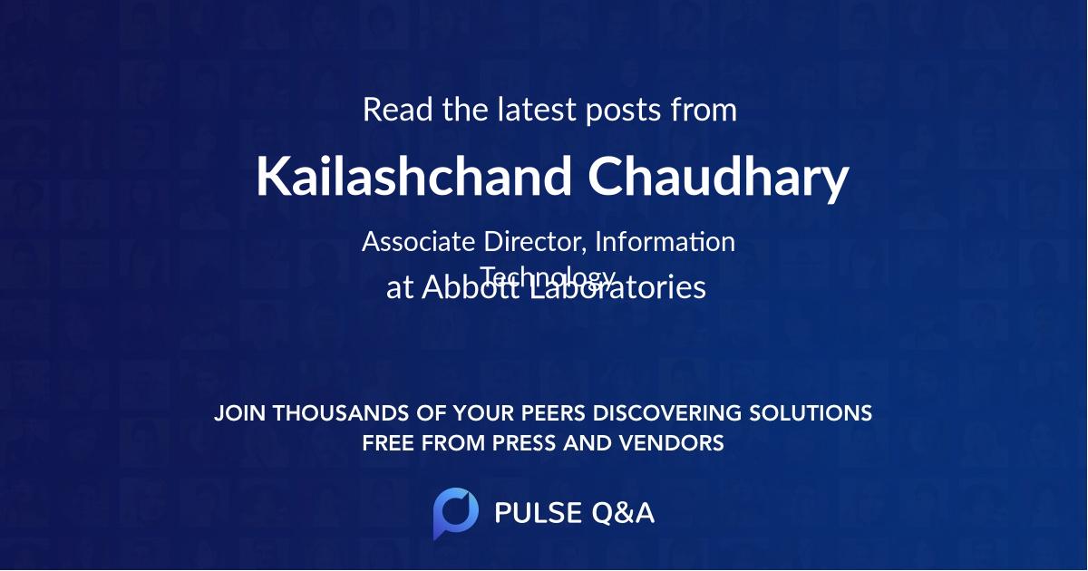 Kailashchand Chaudhary