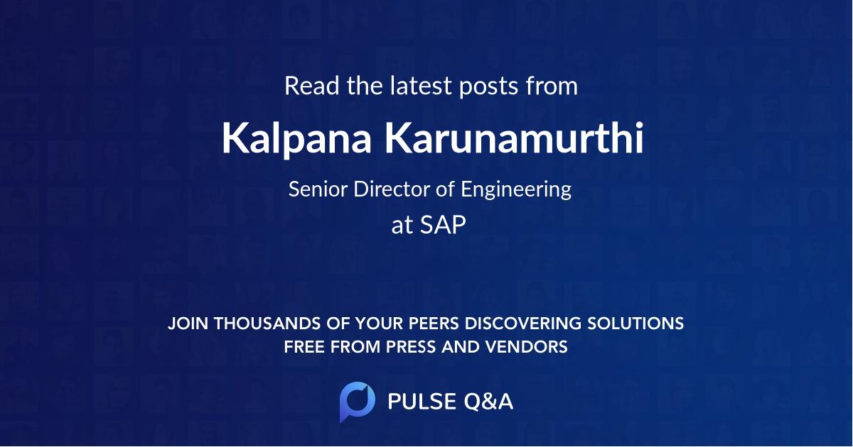 Kalpana Karunamurthi