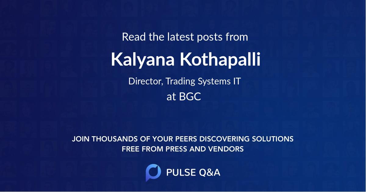 Kalyana Kothapalli