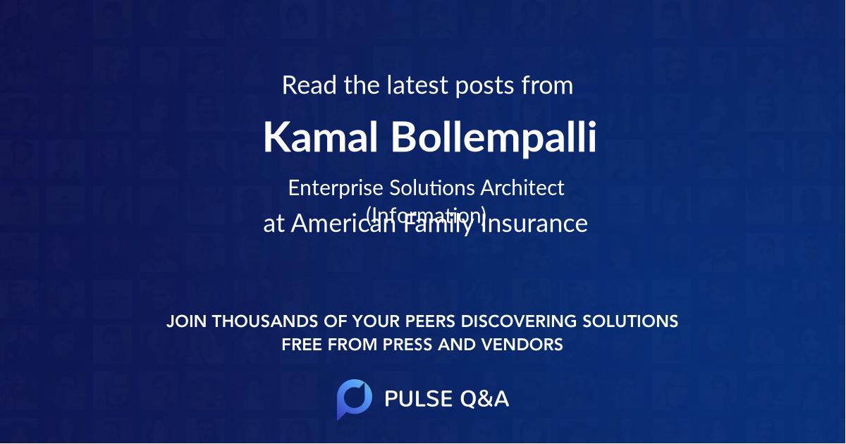 Kamal Bollempalli
