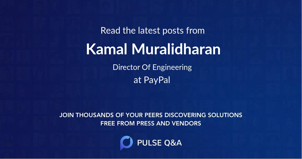 Kamal Muralidharan