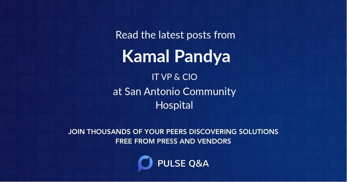 Kamal Pandya