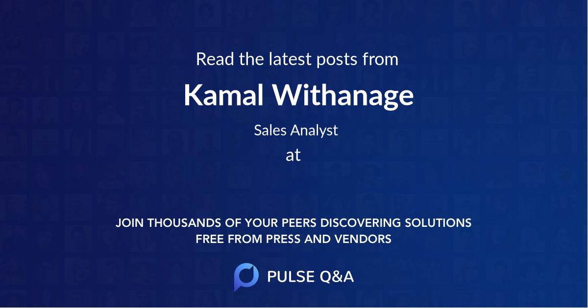 Kamal Withanage