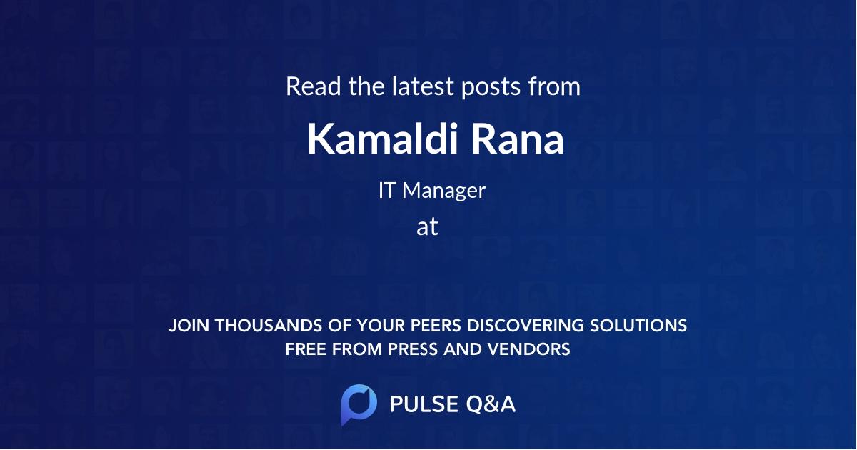 Kamaldi Rana