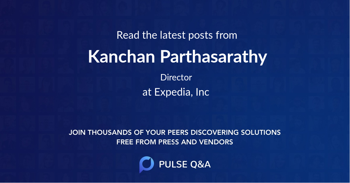 Kanchan Parthasarathy