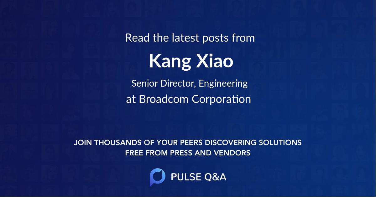 Kang Xiao