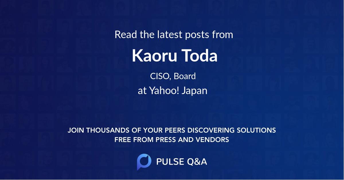 Kaoru Toda