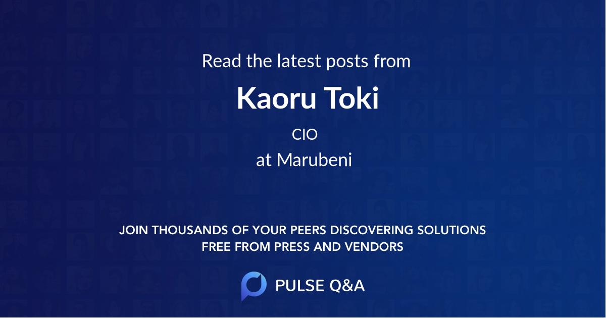 Kaoru Toki