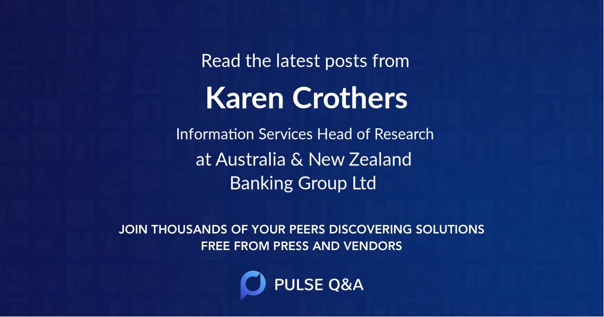 Karen Crothers